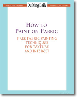 Free Guide to How to Paint on Fabric