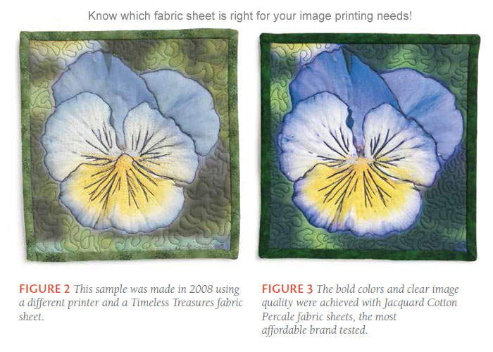 Learn which fabric sheets to use when printing on fabric to get it right the first time and every time! Check out the article for more.