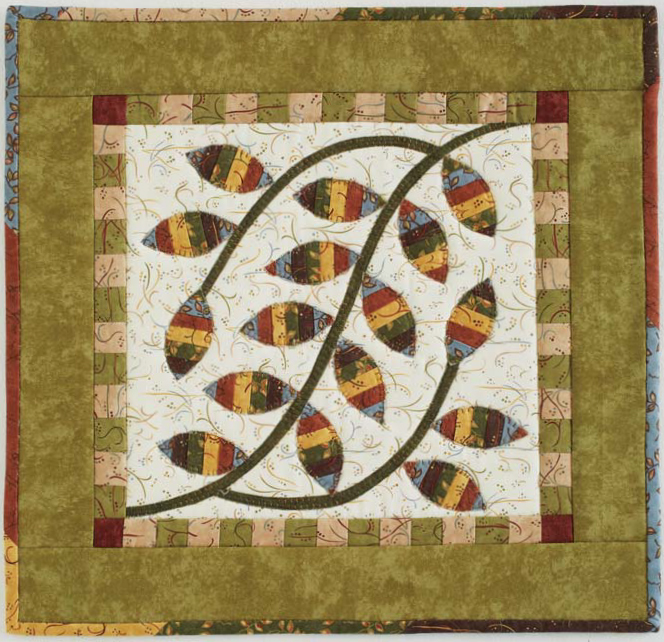 flora quilt Pieces of Flora: A Visit with Kay Mackenzie
