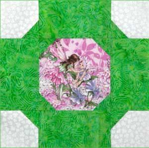 Folktale Circle Free Quilt Block Pattern