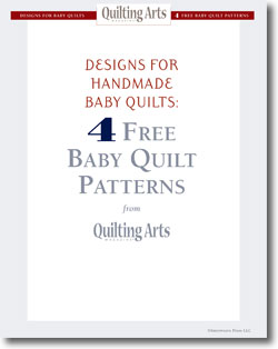 Download your free designs for handmade baby quilts.