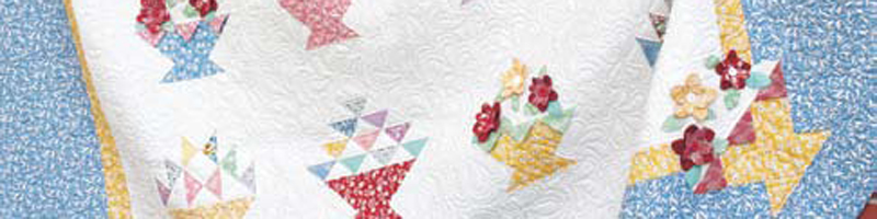 Free projects on basket quilts