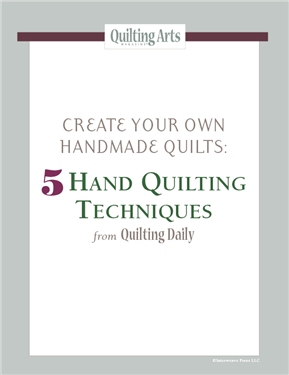 Create your own handmade quilts with the free projects and techniques in this eBook.