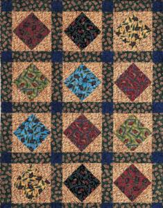 Simple man quilt pattern