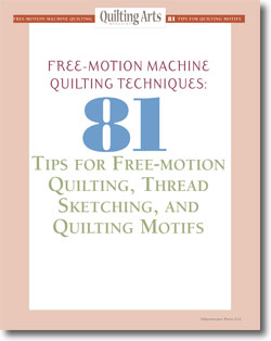 Download your free collection of free-motion quilting patterns, designs, and techniques today!