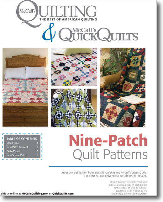 Free Nine-Patch Quilt Patterns to Download - Don't Miss Out, Grab them all Today
