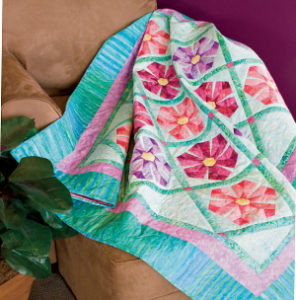 Free paper piecing quilt patterns: Primrose Patch