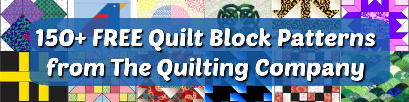 free quilting block patterns from the quilting company