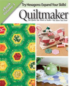 Download 3 FREE hexagon quilt patterns today!