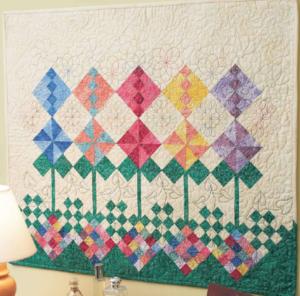 Wall garden quilt pattern