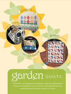 Free garden quilt patterns eBook cover