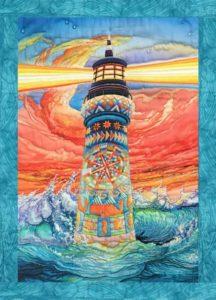 Lightkeeper's Quilt fabric pane