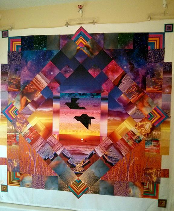 gigiILTQ4 I Love This Quilt!: Santa Fe Sunrise