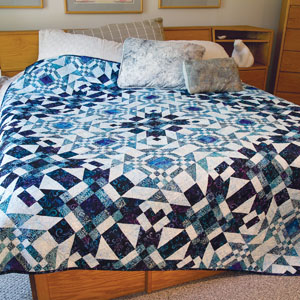 Gone to Pieces: Strip Pieced Batik Quilt Pattern - The Quilting ... : quilting pieces - Adamdwight.com