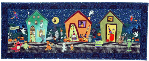 Halloween Street Pattern