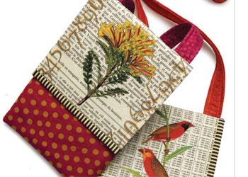 Handmade Bags Patterns: Mini Messenger Bag by LuAnne Hedblom