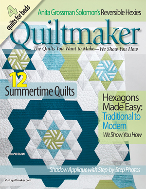 hexcover Its a Guy Thing: Quiltmakers 100 Blocks GIVEAWAY!!!