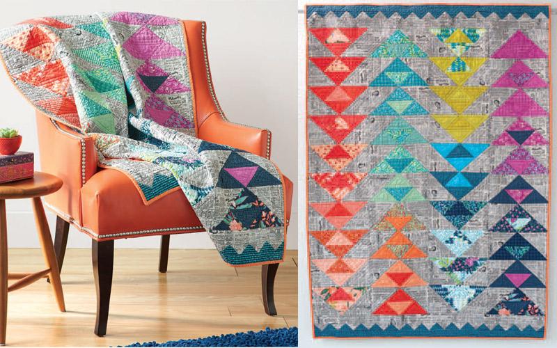 Magic Carpet Ride quilt pattern.