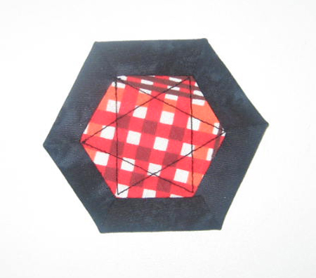 hnuts12 Hexagon Quilting: A Different Kind of Nut