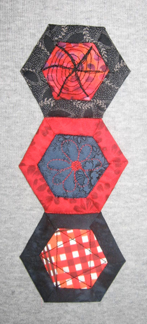 hnuts13 Hexagon Quilting: A Different Kind of Nut