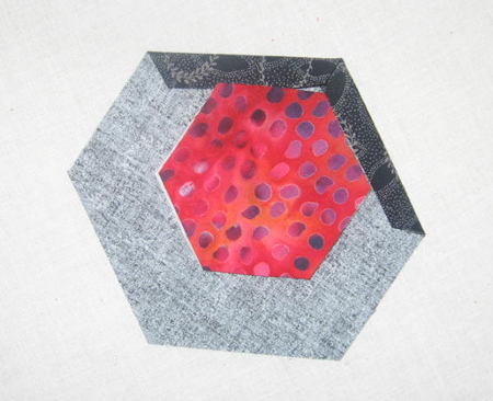 hnuts42 Hexagon Quilting: A Different Kind of Nut