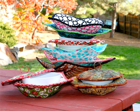 Easy Handmade Gifts Microwave Bowl Potholders