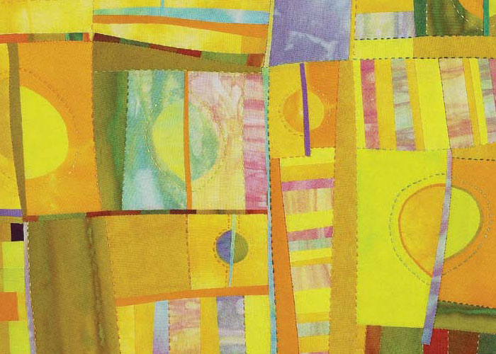 Discover the many ways to use color when designing quilts like this one.