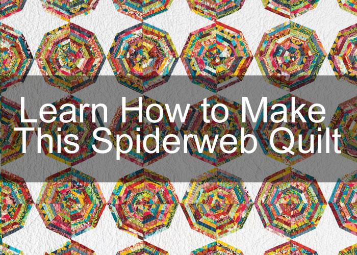 Spiderweb Quilt by Elizabeth Dackson