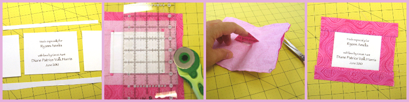 Learn how to make quilt labels like a pro in this easy-to-follow guide!