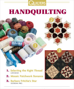 Free guide to hand quilting techniques