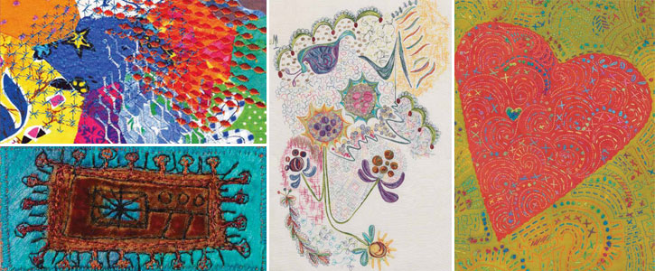 Get instructions for how to sew quilts like these with this free collection of articles.