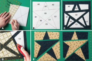 Learn How to Make A Star Quilt!