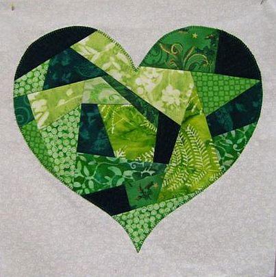I Left My Heart In Ireland Free Quilt Block Pattern