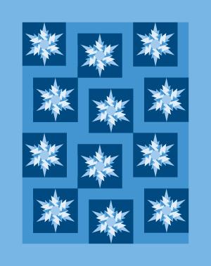 icecrystal quilt 100 Blocks Volume 2: Ice Crystal