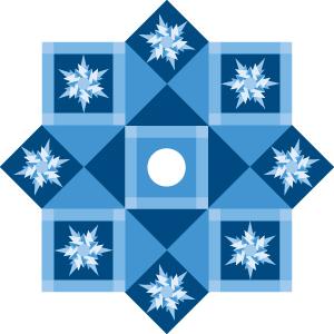 icecrystal treeskirt 100 Blocks Volume 2: Ice Crystal