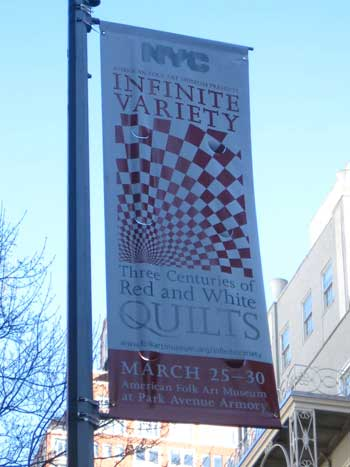 invar21 Infinite Variety: Red & White Quilt Exhibit