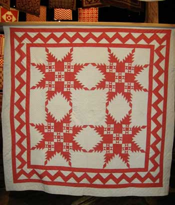 invar5 Infinite Variety: Red & White Quilt Exhibit