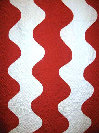 invar7 Infinite Variety: Red & White Quilt Exhibit