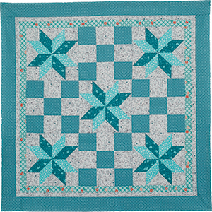 It's Teal: FREE Quick Quilt Pattern