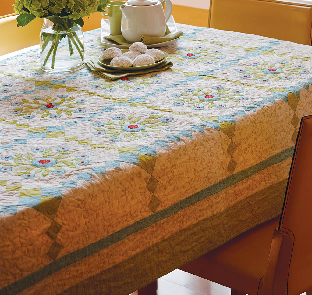 Flowerfall Quilt Fons Amp Porter The Quilting Company