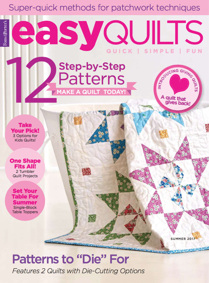 Easy Quilts Summer 2017