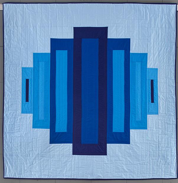 makas, blue, box tops, pieced