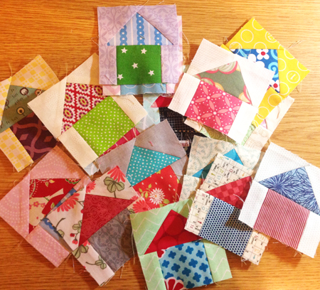 march14 The Bitty Blocks of 2015: Free Quilt Block Patterns