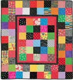 Match Game FREE Baby Quilt Pattern