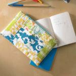 Zippered pouch designed by Christina McKinney