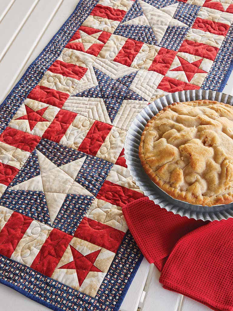 My Patriotic Table Runner - Fons & Porter - The Quilting Company