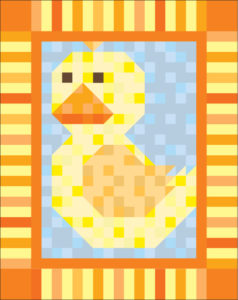 patchpals duck 238x300 Patch Pals Border Swap