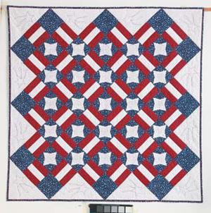 Patriot Star free quilt pattern