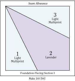 Winter Twilight Foundation Pattern E