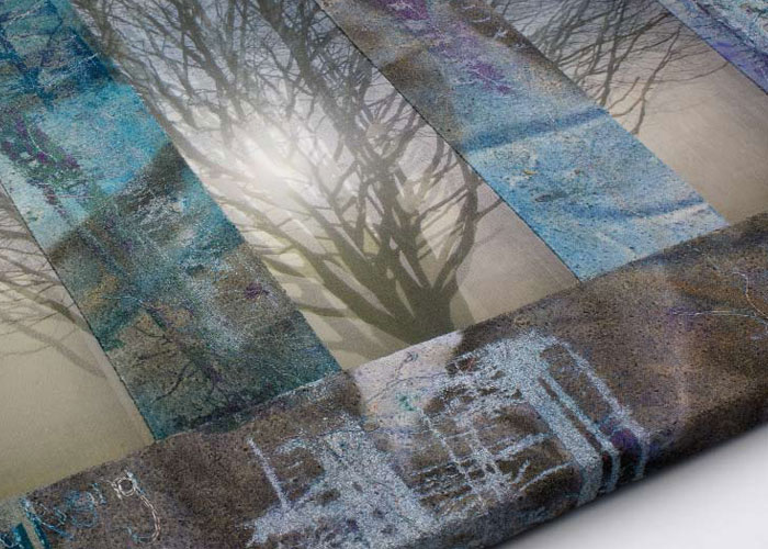 Learn how to create photo memory quilts with all sorts of effects, like this quilt.